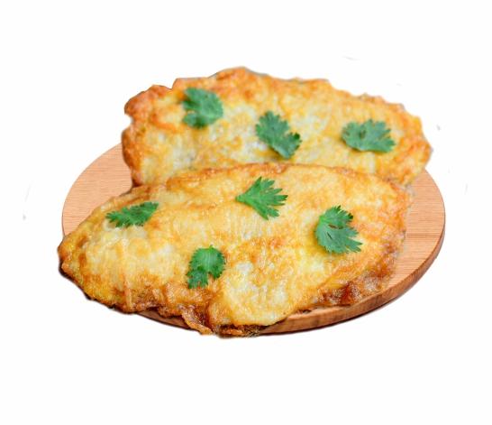 Филе куриное в сырном кляре