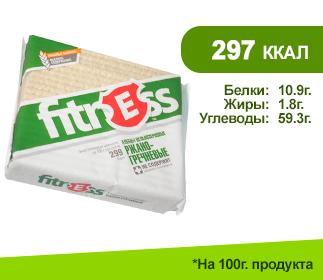 Хлебцы ФИТНЕС 90гр.</br>Ржано-гречневые