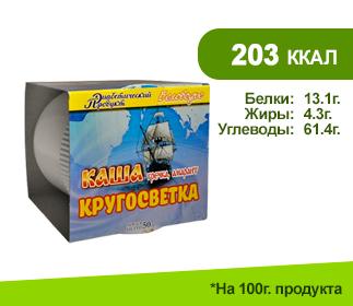 КАША КРУГОСВЕТКА 50гр.</br>гречка+амарант (Беловодье)